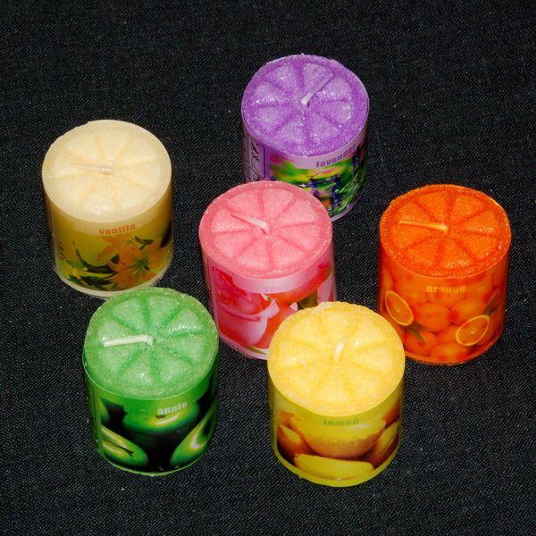 Как сделать разные свечи
