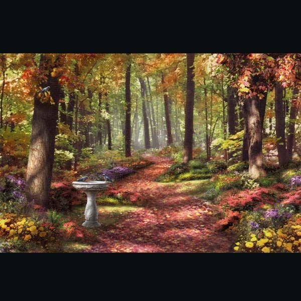 Осеннее солнце почтовая поздравительная открытка с конвертом